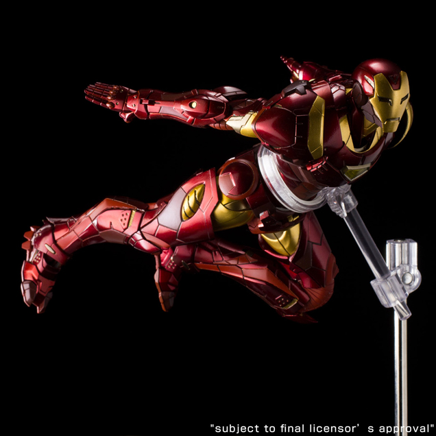 Sentinel Iron Man Extremis Armor Re:Edit Figure - The ...