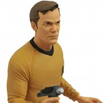 Star Trek TOS Captain Kirk Vinyl Bust Bank