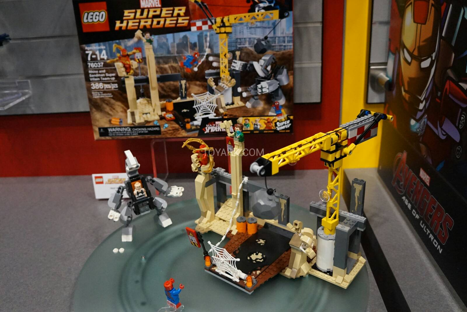 Lego marvel super heroes at toy fair 2015