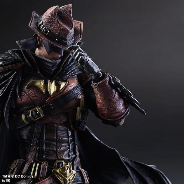 Warriors Into The Wild Ending: Western Batman Play Arts Kai DC Variant