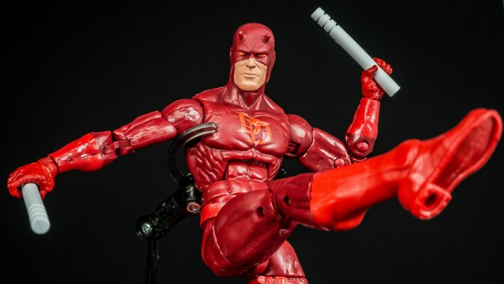 Marvel Legends Daredevil Hobgoblin Wave Photo Shoot