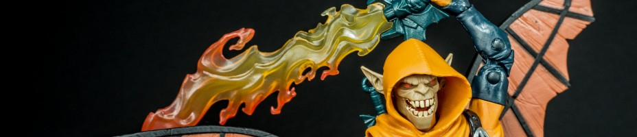 001 Marvel Legends Hobgoblin BAF Wave