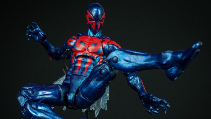 Marvel Legends Spider-Man 2099 Hobgoblin Wave Photo Shoot
