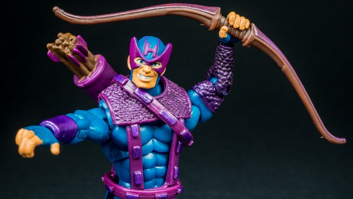 Marvel Infinite Series Hawkeye Avengers Wave Photo Shoot