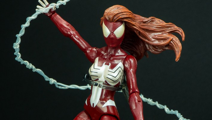 Marvel Legends Ultimate Spider-Woman Hobgoblin Wave Photo Shoot