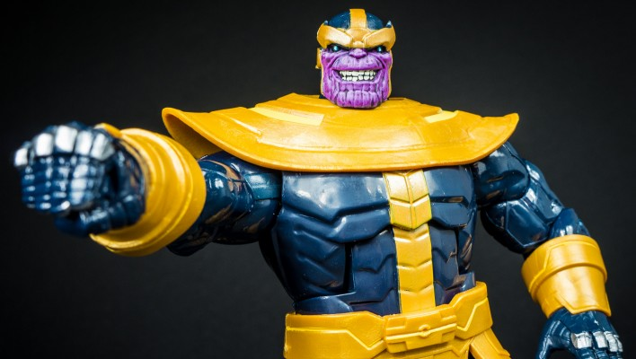 Marvel Legends Thanos BAF Photo Shoot
