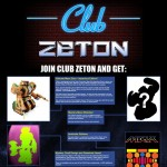 Club Zeton Sales sheet