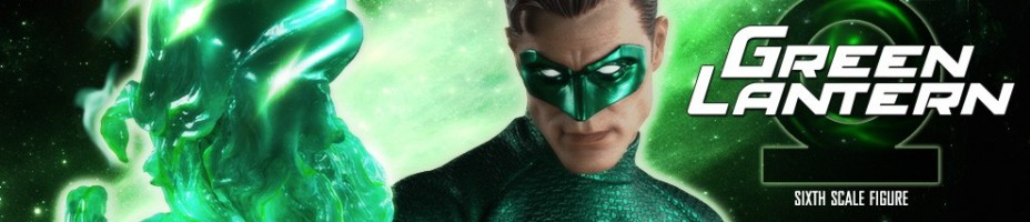 Green Lantern Sixth Scale Figure Preview