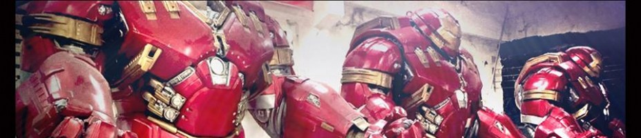 Hot Toys Hulkbuster Statues In Progress