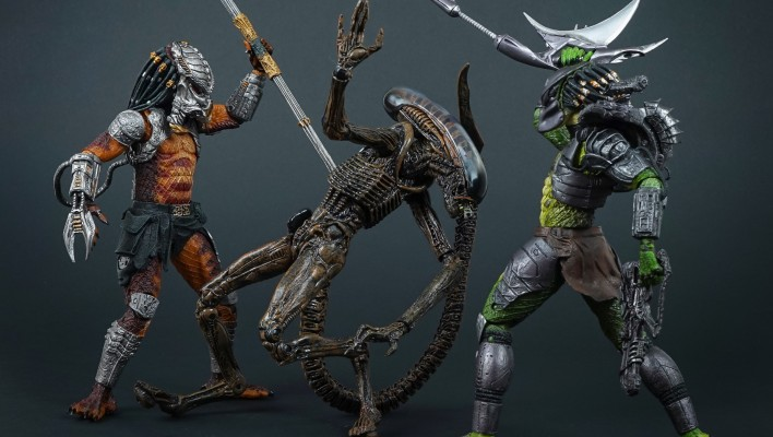 NECA Predator Series 13 Cracked Tusk Predator – Toyark Photo Shoot