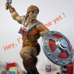 PCS MOTU He Man Statue Painted Preview