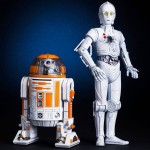 Star Wars Celebration Exclusive R3 A2 and K 3PO ARTFX Statues