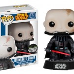 Star Wars Celebraton EX Pop Vinyl Darth Vader Unmasked