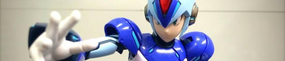 TruForce Mega Man X Prototype Painted 005