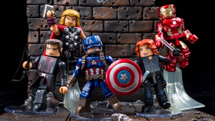 Marvel Minimates Series 61 Photo Shoot