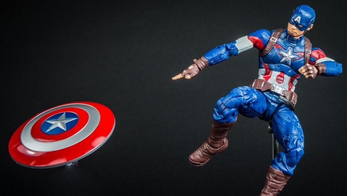 Countdown To Avengers Age of Ultron Captain America Photo Shoot