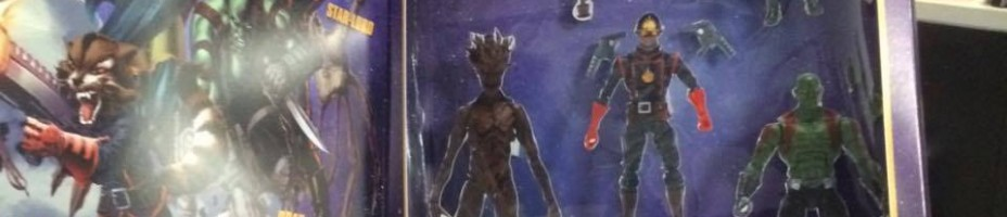 Marvel Legends Guardians of the Galaxy 5 Pack 1