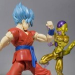 SH Figuarts DBZ Golden Frieza and God Super Saiyan Goku 001