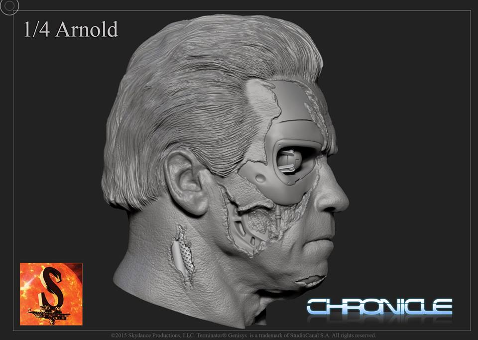 [Chronicle Collectibles] Terminator Genisys - Guardian T800 Terminator-Genisys-Guardian-T-800-by-Chronicle-003