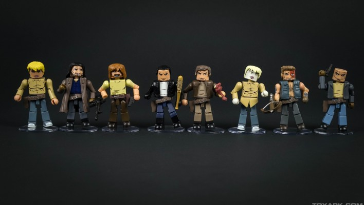 The Walking Dead Minimates Series 7 - Toyark Photo Shoot