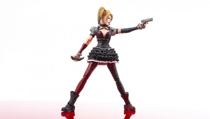 DC Collectibles Arkham Knight Harley Quinn High Res Gallery