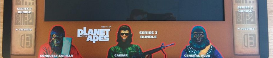 Classic Planet of the Apes Series 3 Bundle Preview