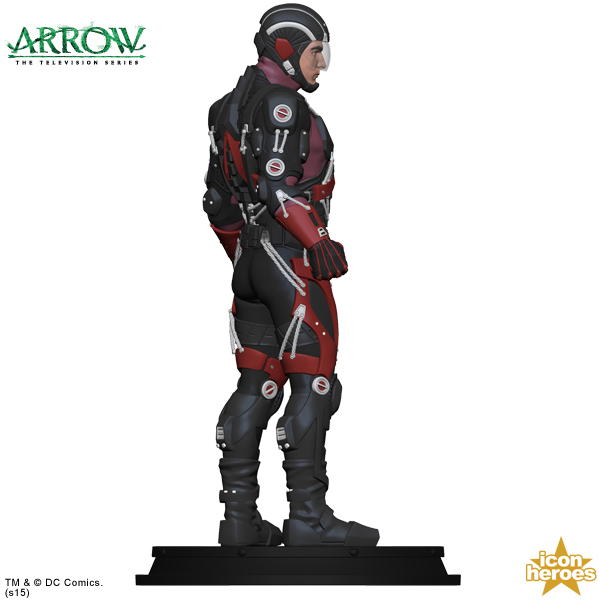 Icon heroes statue paperweight for tv series atom the toyark news