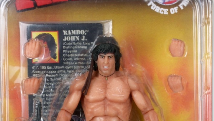 Toyark First Look - NECA 2015 Con Exclusive Rambo Force of Freedom Figure