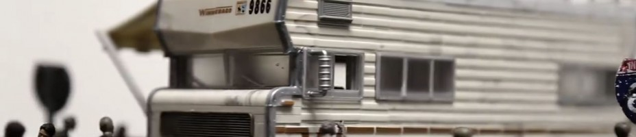 Dales RV Walking Dead Building Set Preview
