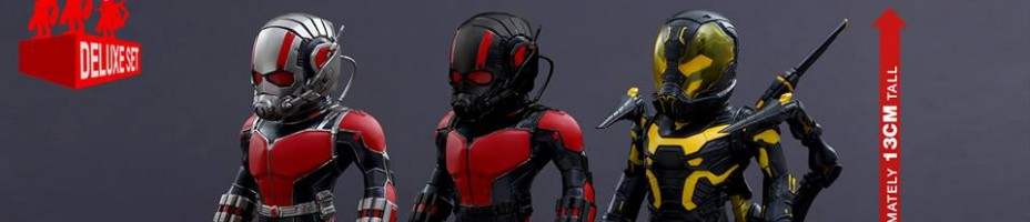 Hot Toys Ant Man Artist Mix Figures 011