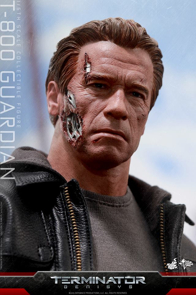 Hot Toys Reveals Terminator: Genisys Guardian T-800 - The ...