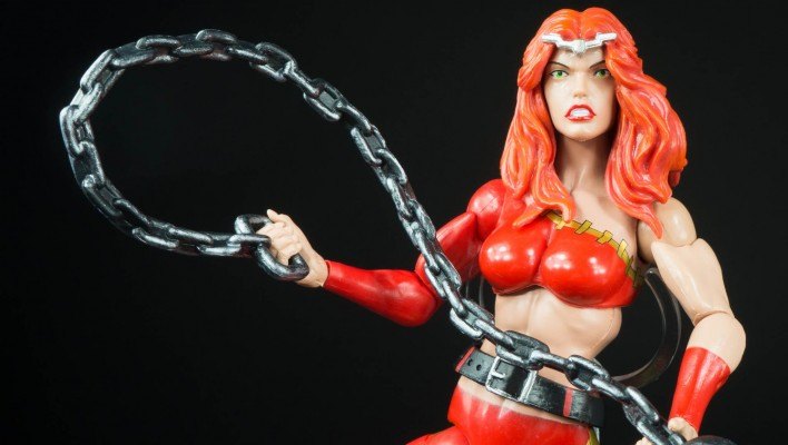 Marvel Legends Thundra Hulkbuster BAF Wave Photo Shoot