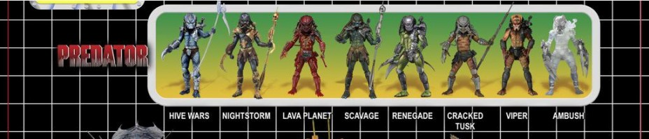 NECA AvP Kenner Style 2 Pack Packaging Preview 1