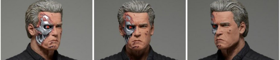 NECA Terminator Genisys Guardian T800 Battle Damaged