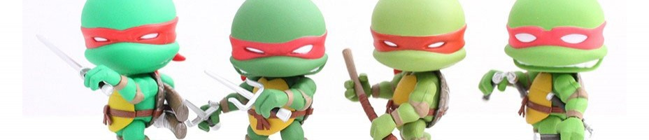 SDCC2015 Loya Subjects TMNT Comic 4 Pack