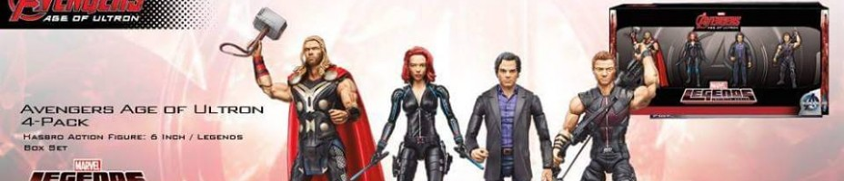 Avengers Marvel Legends 4 Pack