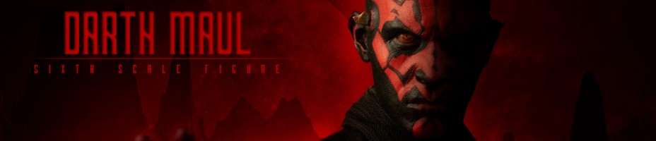 Darth Maul Sixth Scale Figure Preview