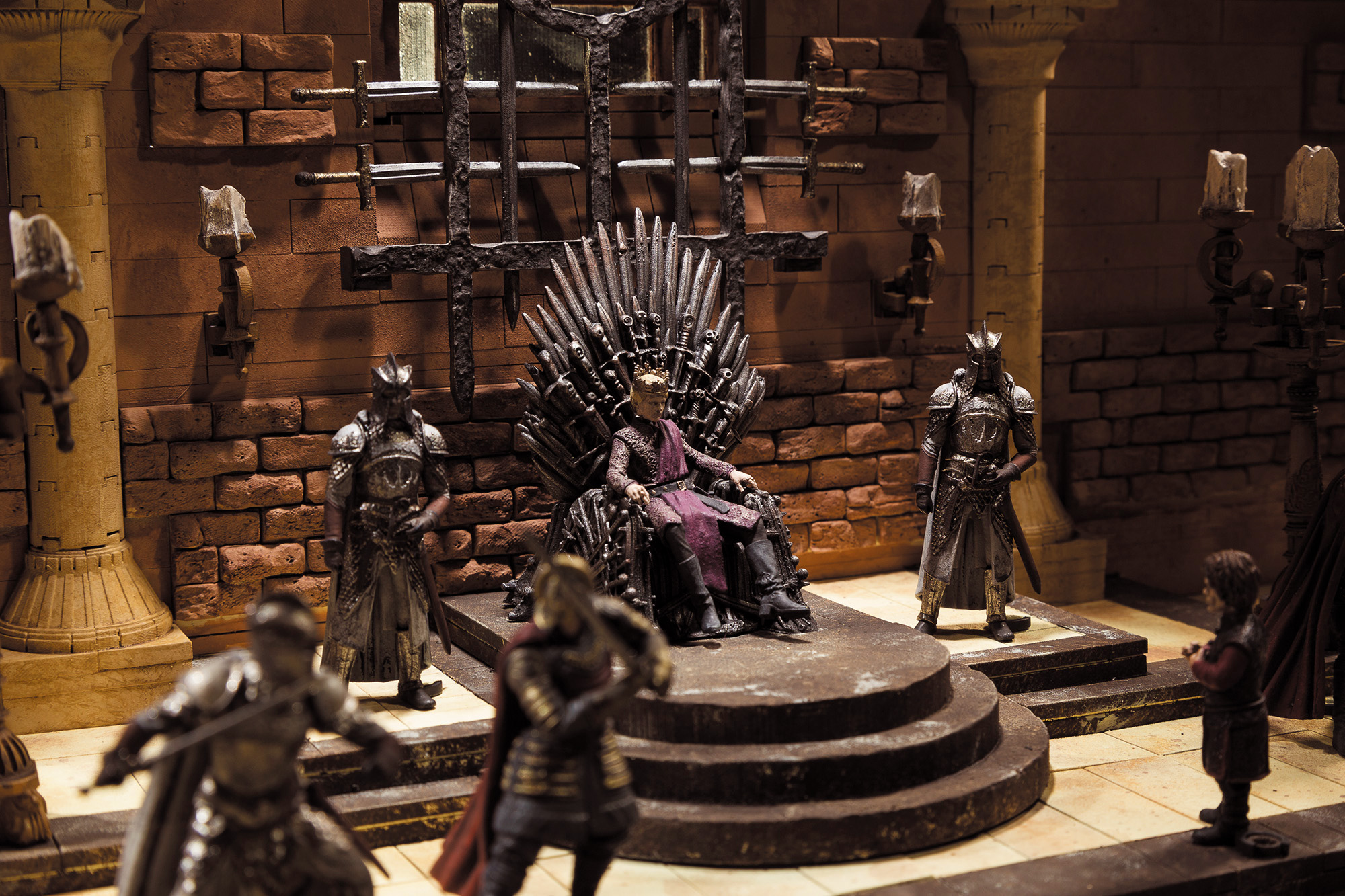 Iron Throne Room Building Set