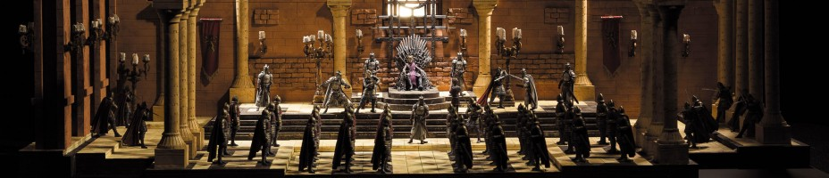 McFarlane Game of Thrones Iron Throne Room Set 002