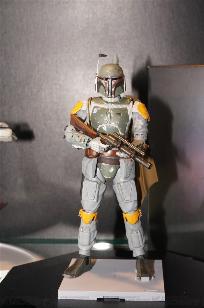 hobby kits 1 12 scale. Bandai Boba Fett And Slave I Model Kits At Chara Hobby 2015 - Additional Images 1 12 Scale