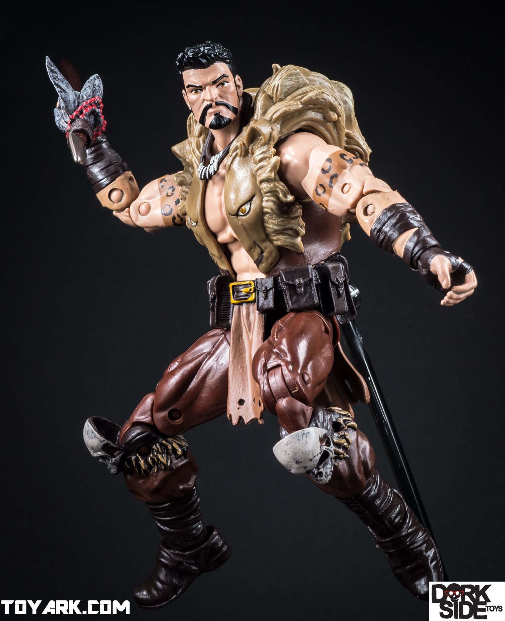 marvel legends kraven rhino baf wave photo shoot the