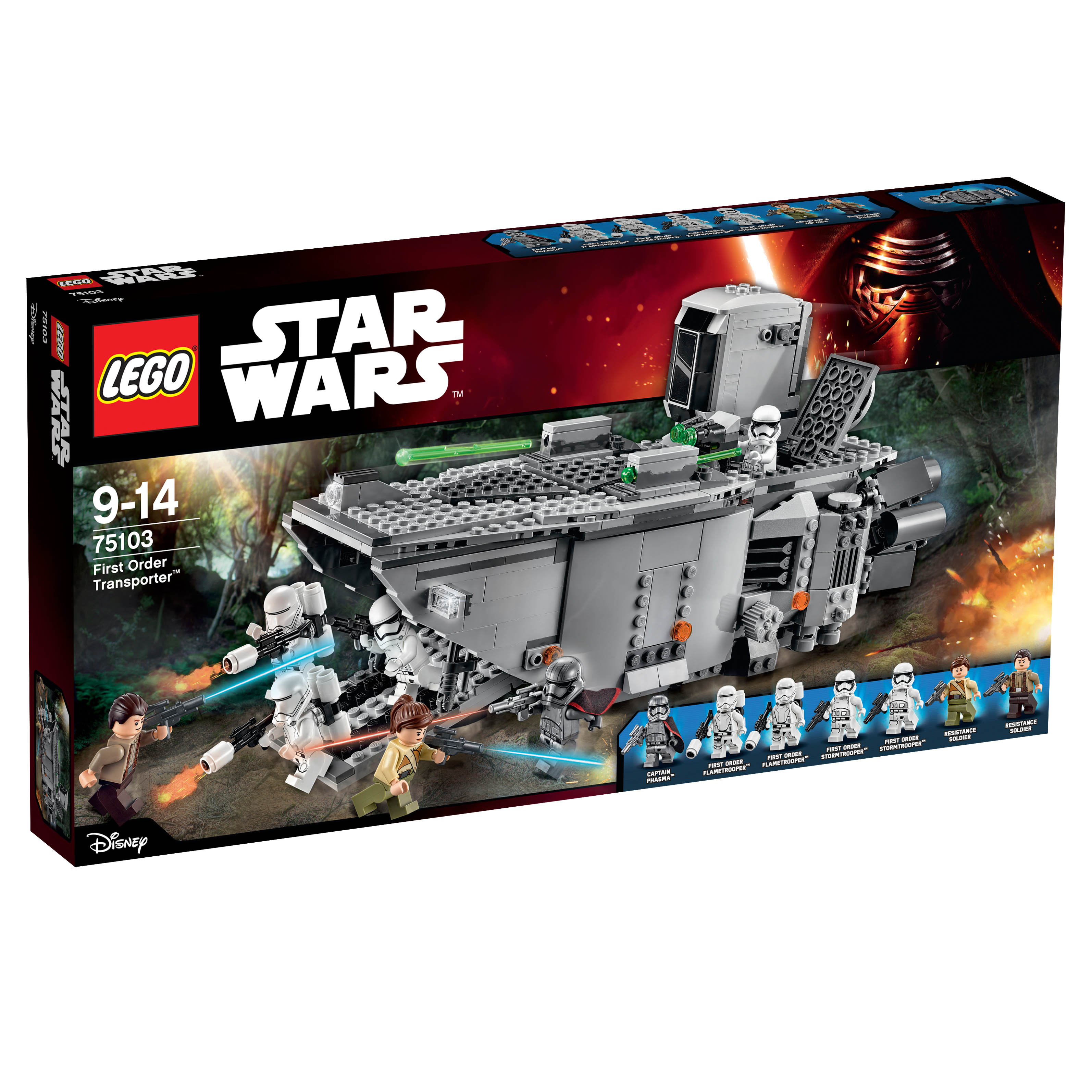 Lego star wars the force awakens product reveals the toyark news - Croiseur interstellaire star wars lego ...