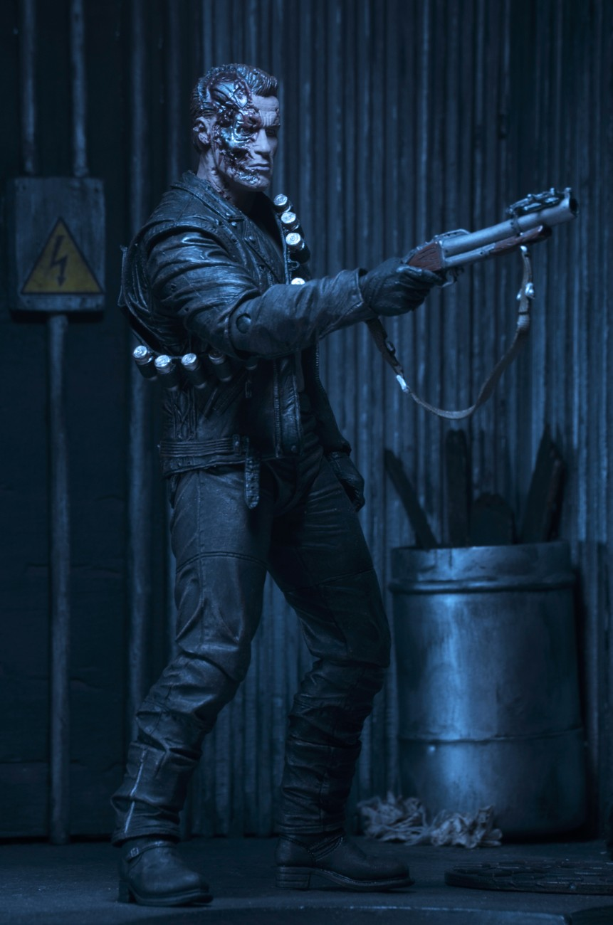Neca Terminator 2 Ultimate T 800 Figure Images The