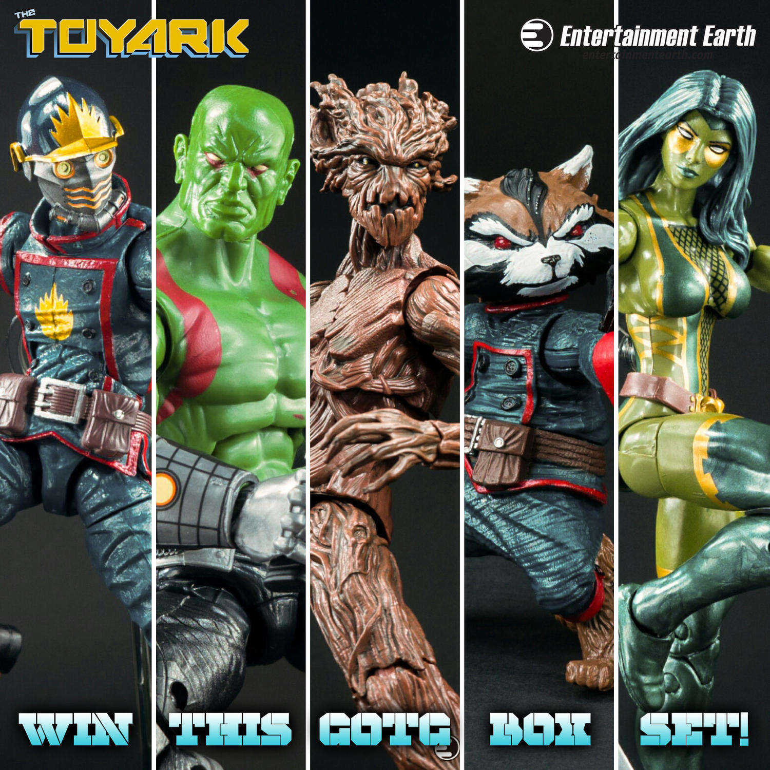 On Twitter? Win a Guardians of the Galaxy Marvel Legends Box Set