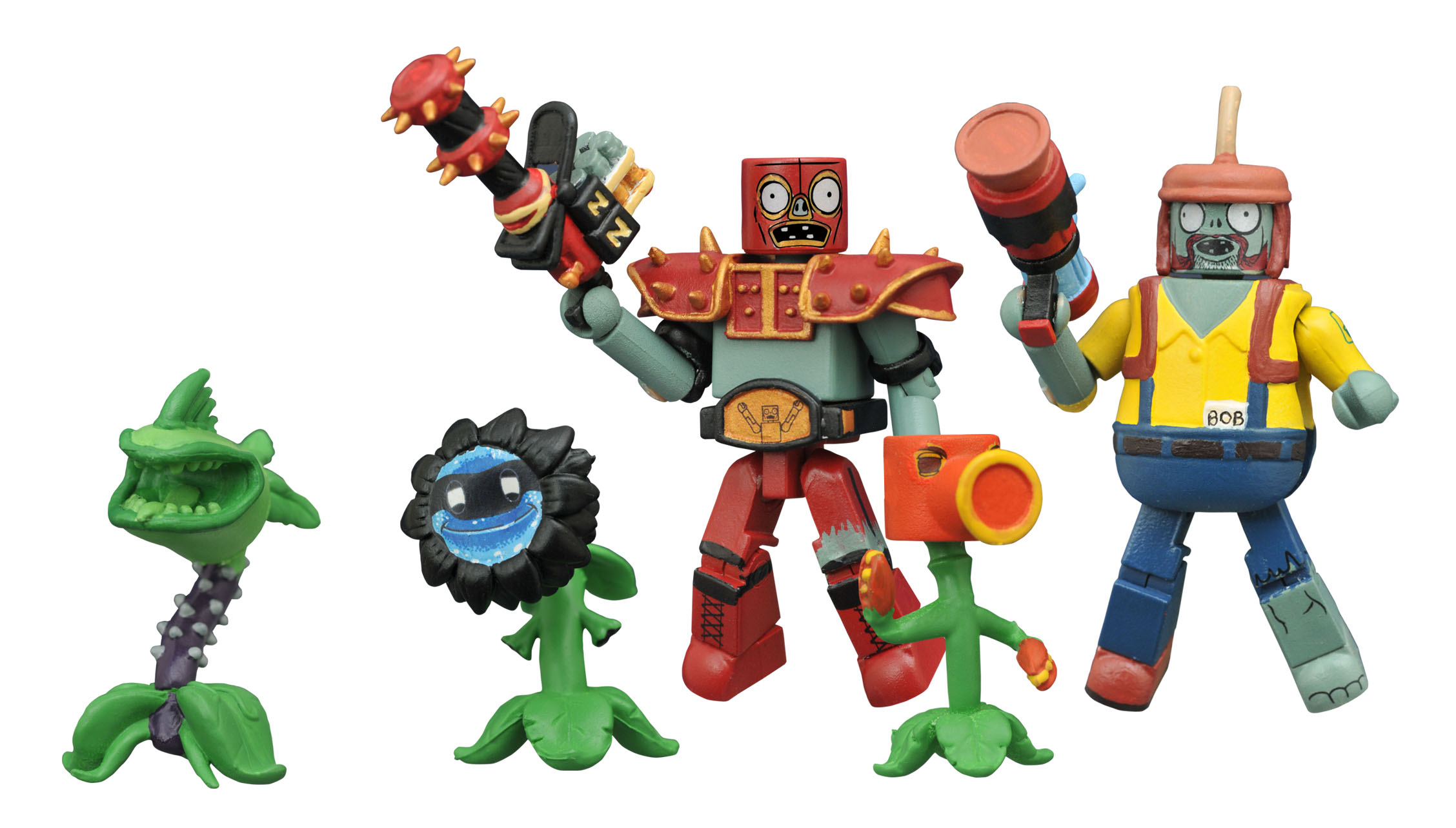 Official photos info for diamond select toys items from - Plants vs zombies garden warfare toys ...