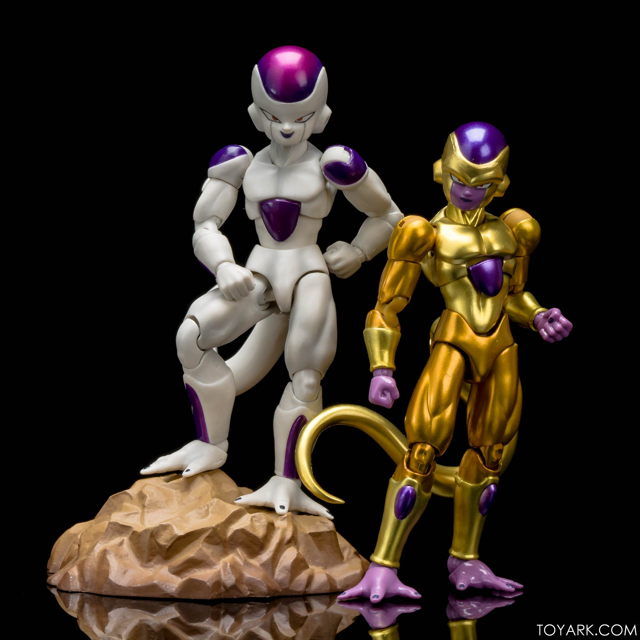 how tall is golden frieza