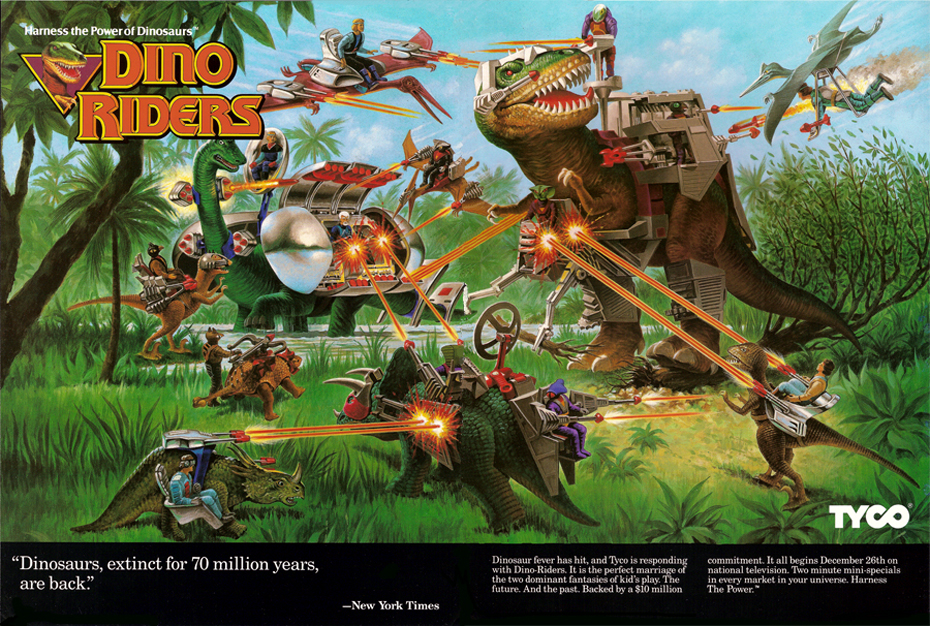 Mattel Applies For Dino Riders Trademark The Toyark News