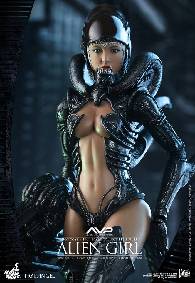 Hot Toys Alien vs Predator Hot Angel Fully Revealed - The ...