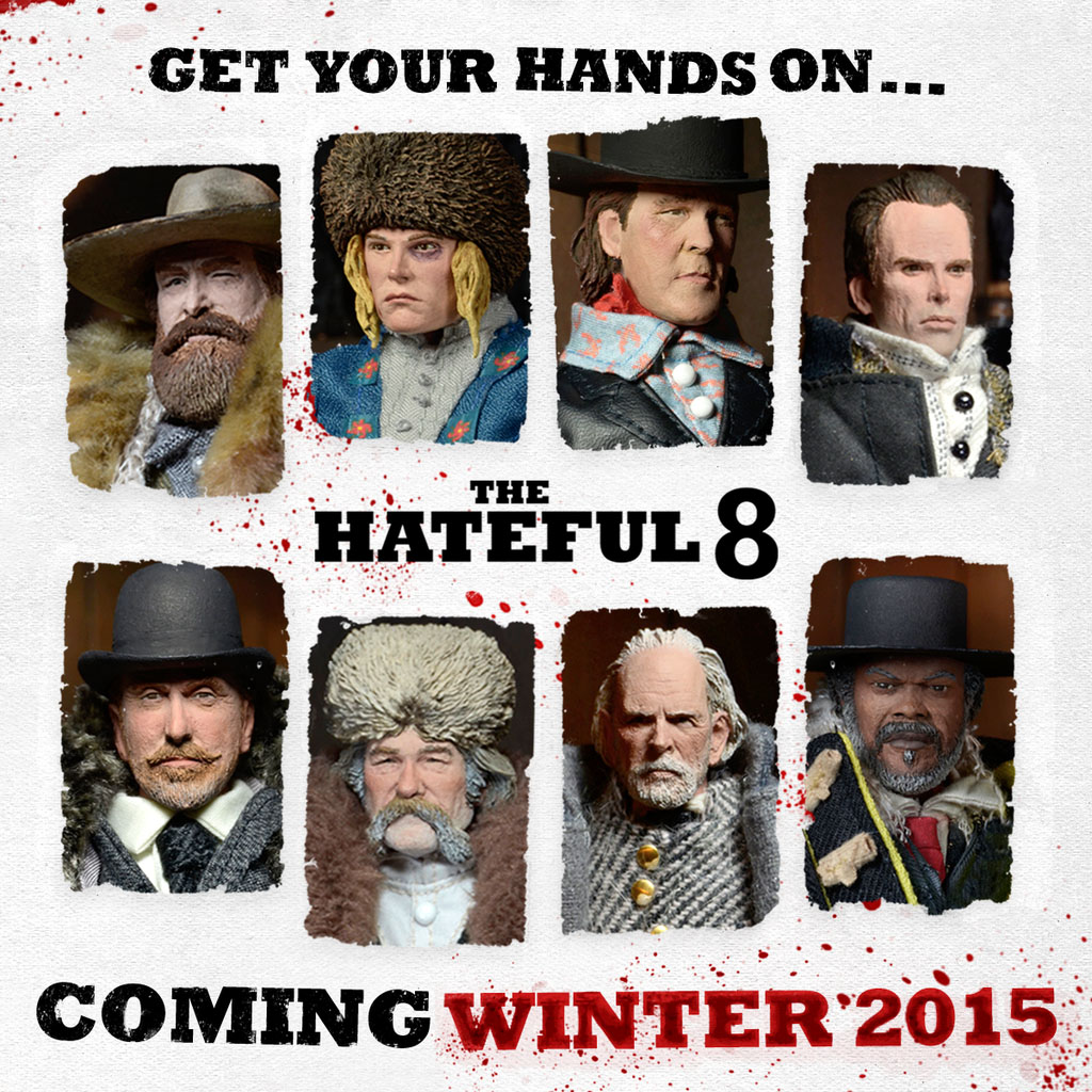 Resultado de imagen de The Hateful Eight neca