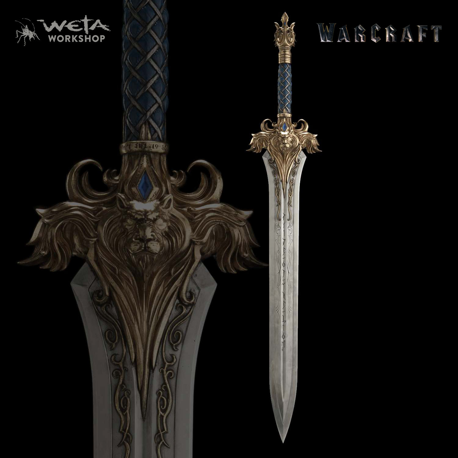 Weta unveils their own line of warcraft movie collectibles for Newspaper wallpaper for sale